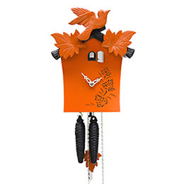 Cuckoo Clock 1-day-movement Modern-Art-Style 25cm by Rombach & Haas