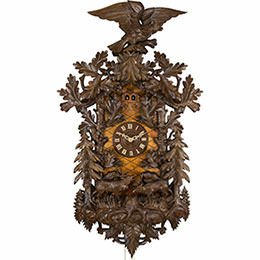 Cuckoo Clock 8-day-movement Carved-Style 150cm by Rombach & Haas