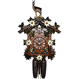 Cuckoo Clock 8-day-movement Carved-Style 29cm by Anton Schneider