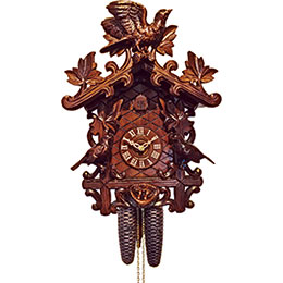 Cuckoo Clock 8-day-movement Carved-Style 37cm by Anton Schneider