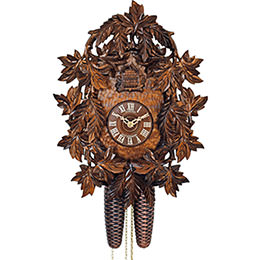 Cuckoo Clock 8-day-movement Carved-Style 39cm by Anton Schneider
