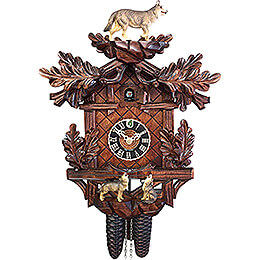 Cuckoo Clock 8-day-movement Carved-Style 40cm by Hönes