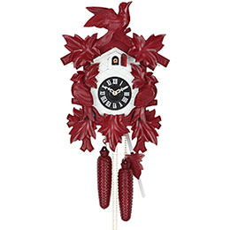 Cuckoo Clock 8-day-movement Carved-Style 40cm by Hekas