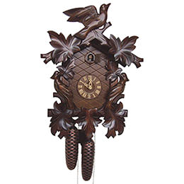 Cuckoo Clock 8-day-movement Carved-Style 42cm by Anton Schneider