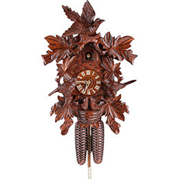 Cuckoo Clock 8-day-movement Carved-Style 42cm by Hekas