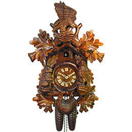 Cuckoo Clock 8-day-movement Carved-Style 47cm by August Schwer