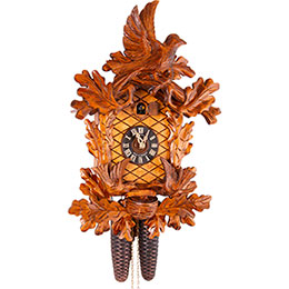 Cuckoo Clock 8-day-movement Carved-Style 48cm by Anton Schneider