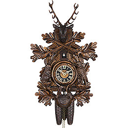 Cuckoo Clock 8-day-movement Carved-Style 48cm by Hönes