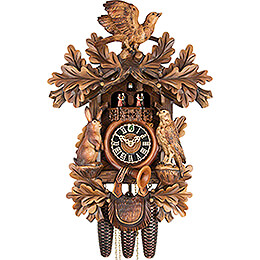 Cuckoo Clock 8-day-movement Carved-Style 52cm by Hönes