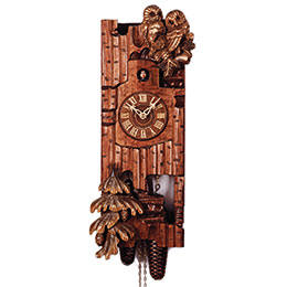 Cuckoo Clock 8-day-movement Carved-Style 52cm by Rombach & Haas