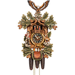 Cuckoo Clock 8-day-movement Carved-Style 56cm by Hönes