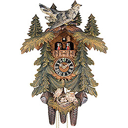 cuckoo clock carvedstyle 57cm by hnes