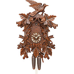 Cuckoo Clock 8-day-movement Carved-Style 60cm by Hekas