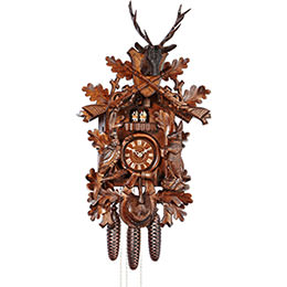 Cuckoo Clock 8-day-movement Carved-Style 75cm by Anton Schneider