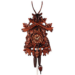 Cuckoo Clock 8-day-movement Carved-Style 80cm by Rombach & Haas