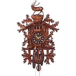 Cuckoo Clock 8-day-movement Carved-Style 85cm by H�nes