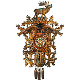 Cuckoo Clock 8-day-movement Carved-Style 90cm by August Schwer