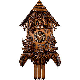 Cuckoo Clock 8-day-movement Carved-Style 92cm by Hönes