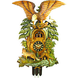 Cuckoo Clock 8-day-movement Carved-Style 94cm by August Schwer