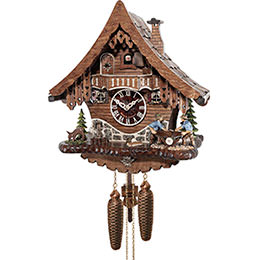 Cuckoo Clock 8-day-movement Chalet-Style 33cm by Engstler