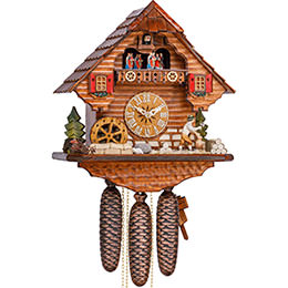 Cuckoo Clock 8-day-movement Chalet-Style 36cm by Hekas