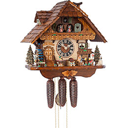 Cuckoo Clock 8-day-movement Chalet-Style 41cm by H�nes