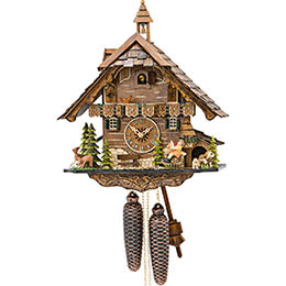 Cuckoo Clock 8-day-movement Chalet-Style 42cm by Engstler