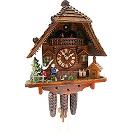 Cuckoo Clock 8-day-movement Chalet-Style 43cm by Rombach & Haas