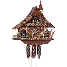 Cuckoo Clock 8-day-movement Chalet-Style 54cm by H�nes