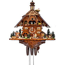 Cuckoo Clock 8-day-movement Chalet-Style 66cm by August Schwer
