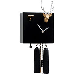 Cuckoo Clock 8-day-movement Modern-Art-Style 20cm by Rombach & Haas