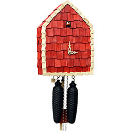 Cuckoo Clock 8-day-movement Modern-Art-Style 21cm by Rombach & Haas