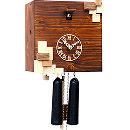 Cuckoo Clock 8-day-movement Modern-Art-Style 25cm by Rombach & Haas