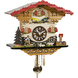 Cuckoo Clock Quartz-movement Black Forest Pendulum Clock-Style 20cm by Trenkle Uhren