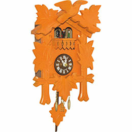 Cuckoo Clock Quartz-movement Black Forest Pendulum Clock-Style 24cm by Trenkle Uhren