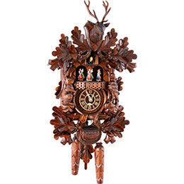 Cuckoo Clock Quartz-movement Carved-Style 42cm by Trenkle Uhren