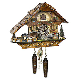 Cuckoo Clock Quartz-movement Chalet-Style 31cm by Trenkle Uhren