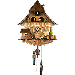Cuckoo Clock Quartz-movement Chalet-Style 32cm by Engstler