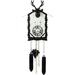 Cuckoo Clock Quartz-movement Modern-Art-Style 20cm by Trenkle Uhren