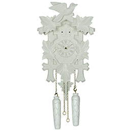 Cuckoo Clock Quartz-movement Modern-Art-Style 35cm by Trenkle Uhren