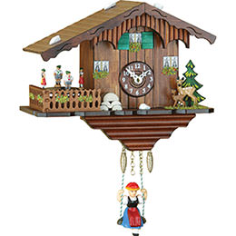 Cuckoo Clock Quartz-movement -Style 20cm by Trenkle Uhren