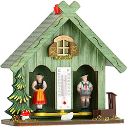 Weather house 14cm by Trenkle Uhren