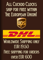 We ship worldwide with DHL & DPD